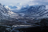Noatak River and Glacial Valley - Aerial View