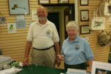 Volunteers at the visitor center located at Laguna Atascosa National Wildlife Refuge