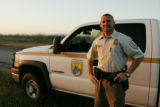 Service employee at Laguna Atascosa National Wildlife Refuge