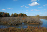 Autumn scenic at Swan Lake National Wildlife Refuge