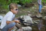 Cool little fisherman!
