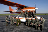 Group of U.S. Fish and Wildlife Service pilots