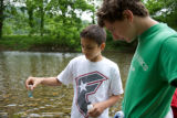 Youth water quality sampling