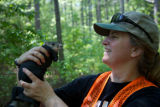Delmarva Peninsula fox squirrel pit tagging