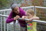 Mother and daughter at Spring Creek National Fish Hatchery