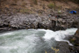 Salmon fishing in the Klickitat River