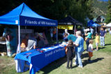 Wenatchee River Salmon Festival fishing exhibit