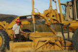 Service wage grade employee with equipment