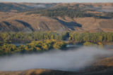 Missouri River in the Fall