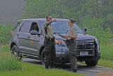 Refuge Law Enforcement Officers on patrol