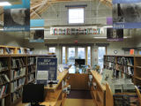 Interior view of the FWS Conservation Library