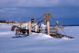 Fish Wheel in the Snow
