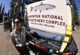 Lahontan National Fish Hatchery truck