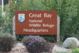 Great Bay National Wildlife Refuge sign