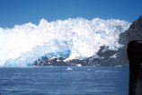 Close up of Chenega glacier