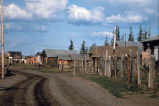 Street of Fort Yukon village