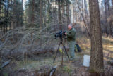 NCTC Videographer in Gila National Forest