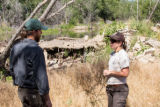 Biologists discuss stream restoration