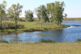 Grassland easement at Long Lake Wetland Management District