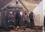 Agattu Island field camp staff, May 1974