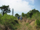 Hiking on the lighthouse trail