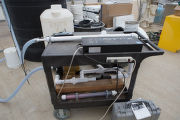 Portable water sterilization equipment