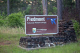 Entrance sign at the Piedmont National Wildlife Refuge