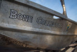 U.S. Fish and Wildlife Service boat, Bone Collector, decal