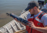 USGS scientist documents invasive carp data on Missouri River