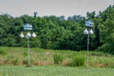 Purple Martin houses at Prime Hook NWR