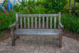 Bench at Blackwater NWR visitor center