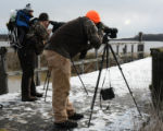 Birders on the Michigan Waterfowl Legacy Tour