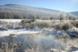 Pond in winter at Canaan Valley