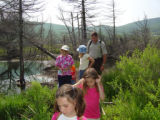 Field Trip through Freeland Tract