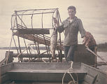 Men and Fishwheel, Subsistence Fishing