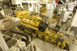 M/V Tiglax engine room