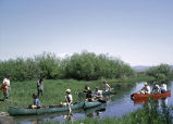 Canoeing at Upper Klamath National Wildlife Refuge