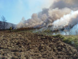 Prescribed burn at Canaan Valley National Wildlife Refuge