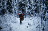 Winter backpacking at Kenai National Wildlife Refuge