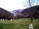 Shenandoah River From Harpers Ferry Cemetery