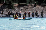 Kayaking and Combat Fishing on the Kenai River