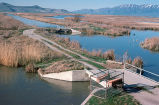Water Control Structure on Bear River National Wildlife Refuge
