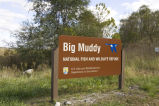 Big Muddy National Wildlife Refuge sign