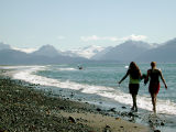 Kachemak Bay beach