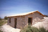 Longstreet Cabin after restoration at Ash Meadows National Wildlife Refuge