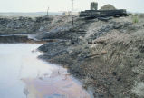 Oil field pollution
