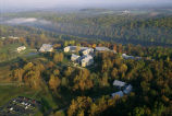 Autumn Aerial of the National Conservation Training Center