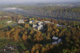 Aerial of the National Conservation Training Center (NCTC)