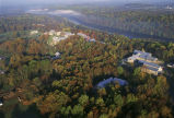 Aerial of the National Conservation Training Center (NCTC) campus