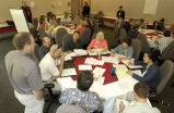 Group work during the Conservation in Action Summit held at the National Conservation Training...